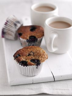 Lisa Faulkner's Bran and Blueberry Muffins More