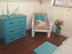 Now this closely resembles the floors.. so this shade blue accent decor would look nice!