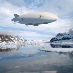 「ハイブリッド・エアシップ」どこでも離着陸できる飛行船、2018年から販売へ