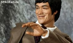 Bruce Lee: Bruce Lee in Suit, Voll bewegliche Deluxe-Figur ... http://spaceart.de/produkte/brl003.php