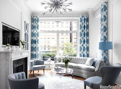 Curtain Mistakes - How to Hang Curtains - House Beautiful