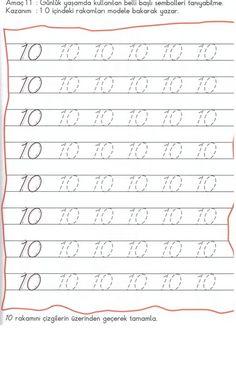 Number 2 Tracing Worksheets For Kindergarten | RAKAMLAR ...