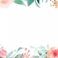 floral watercolor - Pesquisa Google