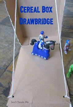 STEM Engineering Challenge: cereal box drawbridge