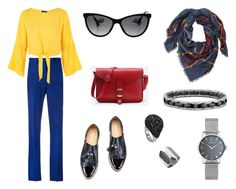Триада by shev-evgeniya on Polyvore featuring мода, Topshop, Victoria Beckham, L.L.Bean and Chanel
