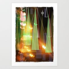 Christmas almost here Art Print by Miguel Á. Núñez I. - $14.04