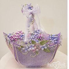 Sweet Lilac Parasol - #HeartfeltCreations #papercraft #craft #card #cardmaking #alteredart #giftidea #gift