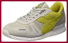 Diadora Unisex-Erwachsene Titan Ii Sneaker, Multicolore (C6114 Grigio Roccia /Citronella)