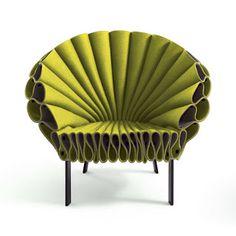 Mark Cutler Design: peacock inspired chair