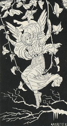 Winter  Fairy by Constance Foxley. 1890s
