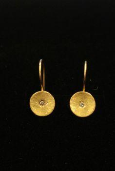 solid gold earringsdiamond earringsdiamond by JackAssayagJewelry