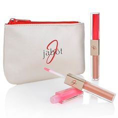 Jabot Glamour Lip Gloss Duo with Cosmetic Case at HSN.com.