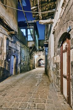 Legacy-The old city of Damascus, Syria.