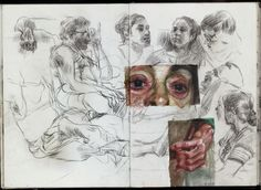art sketchbook Spreads from my life drawing sketchbook from this year. Some of the ballpoint and watercolour drawings are from photo references. Inspiration Drawing, Kunstjournal Inspiration, Sketchbook Inspiration, Sketchbook Ideas, Watercolour Drawings, Painting & Drawing, Art Drawings, Portrait Watercolour, Watercolor Face