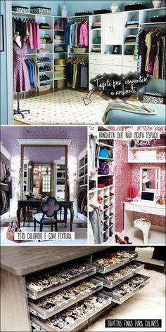 Chata de Galocha! Ideias para deixar seu closet mais interessante.