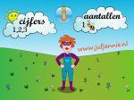 Juf Jannie – Cijfers    Gratis app    Appple + Android    Met deze app kan je kind kennis maken met de cijfers 1 tot en met 10. Via twee keuzes kan je kind kiezen om de cijfers te horen of om de cijfers te zien met de aantallen die er bij horen. Allemaal in de omgeving van de kinderboerderij.