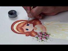 Pintar Muñecas en Tela (1/4) - YouTube