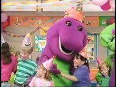 I Love You in Barney's Birthday