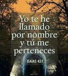 Isaias 43:1