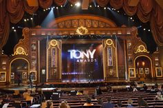 Tony Awards 2014 : virtual digital set design & build - K Brandon ...