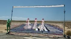 Video installation by Hito Steyerl at Venice Biennale 2013