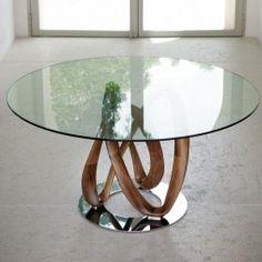 Porada Infinity Round Dining Table 130cm