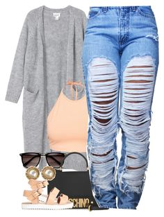 """""""Untitled #1362"""" by power-beauty ❤ liked on Polyvore featuring Monki, NLY Trend, Moschino and Chanel"""