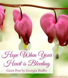 Hope When Your Heart Is Bleeding | Christin Ditchfield
