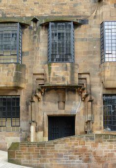 Glasgow School of Art, Charles Rennie Mackintosh. Charles Rennie Mackintosh, Glasgow School Of Art, Art School, Amazing Architecture, Architecture Details, Glasgow Architecture, Beautiful Buildings, Beautiful Places, Glasgow Scotland