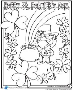 free st. patrick's day printables - Google Search