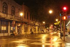 Nighttime in Downtown Honolulu
