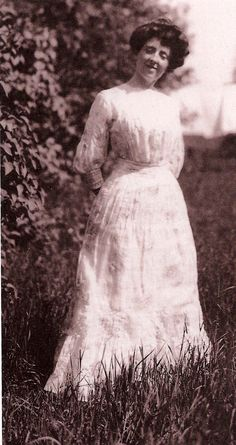 Lucy Maud Montgomery - author of Anne of Green Gables series