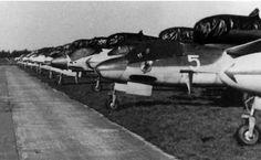 """1945, Deutschland, Schleswig-Holstein, Leck, Jagdgeschwader 1 """"Oesau"""""""