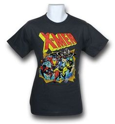X-Men Breakthrough Charcoal T-Shirt