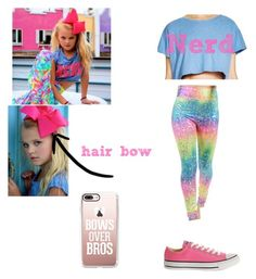 """JoJo Siwa; Queen of Bows"" by mysterywritergirl240 on Polyvore featuring COMUNE, Tirade 13, SIWA, Converse and Casetify"