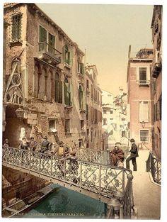 Paradise Bridge, Venice, Italy - between ca. 1890 and ca. 1900 (Library of Congress Prints and Photographs Division Washington, USA)