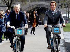 Prefeito de Londres anda de bicicleta…os políticos do Brasil, de carro importado.   Foto: PA