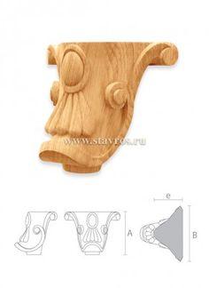 купить опоры для мебели деревянные MN-061