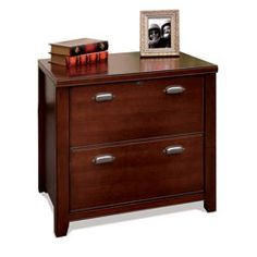 Best Of Cabot Lateral File Cabinet In Espresso Oak