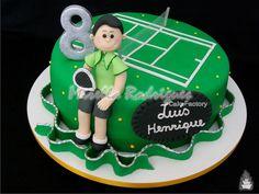 cake tennis - Поиск в Google Rodjendanske Torte, Sport Tennis, Cake, Desserts, Food, Google, Sports, Tailgate Desserts, Hs Sports