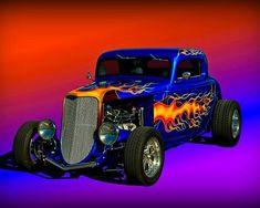 Rat Rod Cars, Hot Rod Trucks, Big Trucks, Rat Rods, Classic Hot Rod, Classic Cars, Best Muscle Cars, Thing 1, Street Rods
