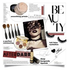 """""""Beauty after dark"""" by pippi-loves-music ❤ liked on Polyvore featuring beauty, tarte, Gucci and afterdark"""