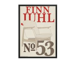 Plakater_Kim_Lynnerup_Finn_Juhl_no_53  #KimLynnerup #FinnJuhl #Juhl #plakat #plakatgalleridk