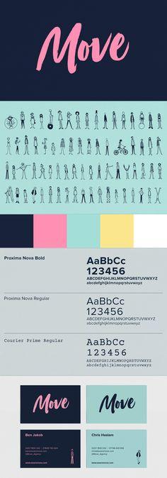 Move brand identity and logo design by Studio Lovelock