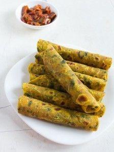 methi recipes - sharing a collection of 19 indian veg recipes that are made with fenugreek leaves. methi paratha, methi thepla, methi paneer.