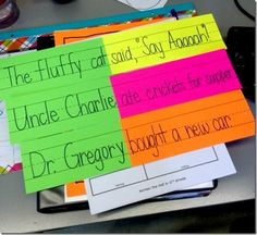 naming and telling activities and printables