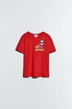 MINNIE AND MICKEY MOUSE ©DISNEY T-SHIRT | ZARA United States