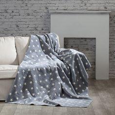 Koc Cotton Cloud 150x200cm Stars, 150x200cm - Dekoria
