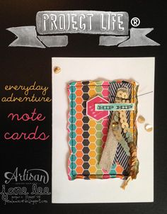 Project Life® by Stampin' Up!® notecards | aww  | Jane Lee http://janeleescards.blogspot.com