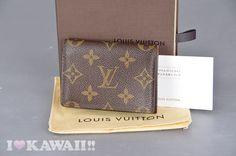 Authentic Louis Vuitton Monogram Envelppoe Cartes De Visite Card Case M62920 Chanel